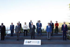 G7: World leaders promise 1 billion Covid vaccines