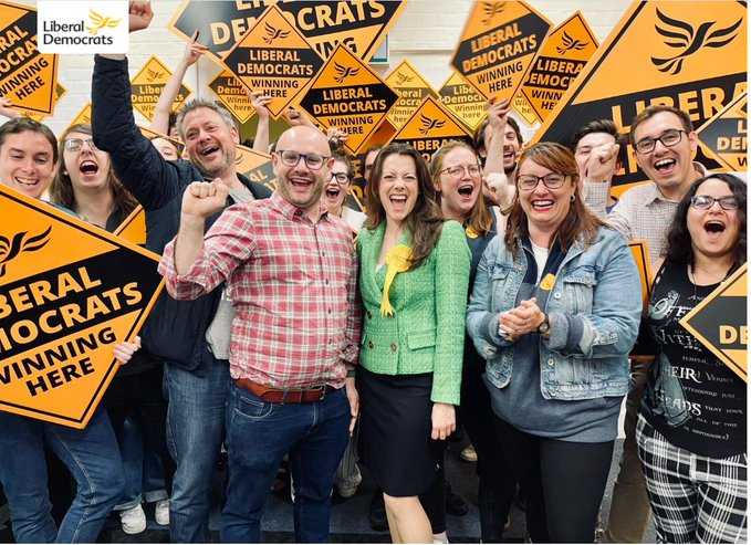 Tories lose seat in by-election to Lib Dems