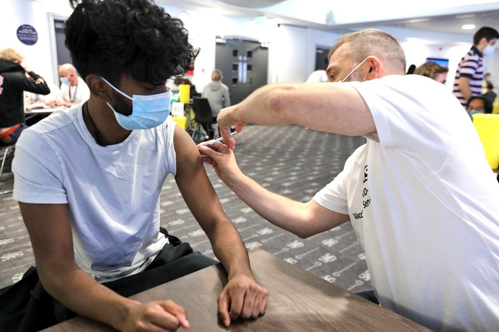 Thousands of young Londoners vaccinated over the weekend