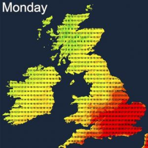 UK records hottest day of the year