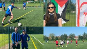 Kulüpler Birliği'nin düzenlediği yaz ligi keyifle devam ediyor