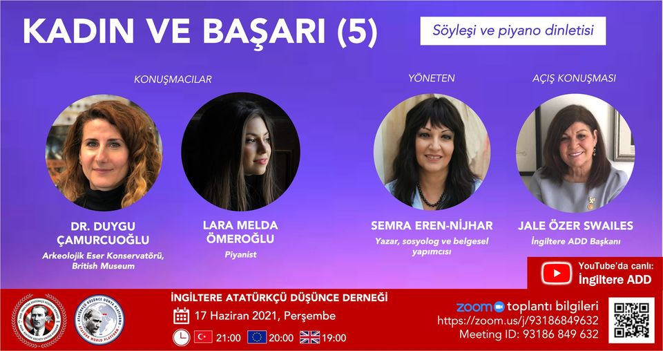 ASUK to hold an online panel on 'Women and Success'