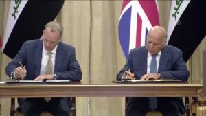 İngiltere Dışişleri Bakanı Dominic Raab, Irak'ta