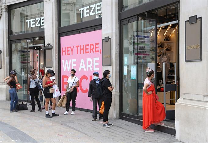 İngiltere'de perakende satışlar mayısta yüzde 1,4 azaldı