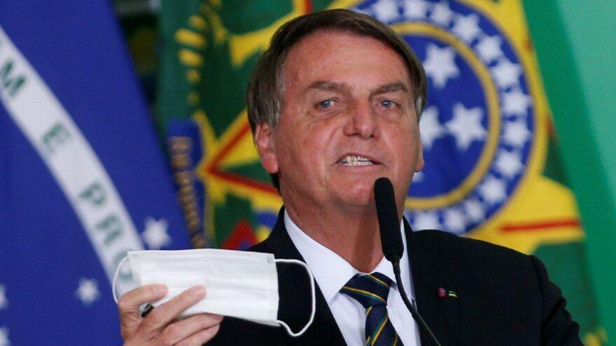 Brezilya cumhurbaşkanı, maske kullanmadığı için ceza aldı
