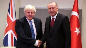 Johnson ile Erdoğan görüşmesi sona erdi