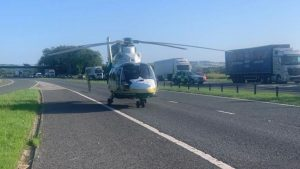 Three killed in six-vehicle collision on the A1(M)