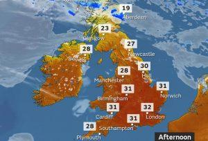UK heatwave set to continue
