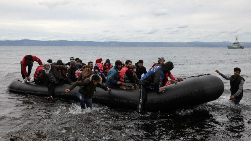 İngiltere ve Fransa'dan yasa dışı göçmenlere karşı 54 milyon sterlinlik anlaşma