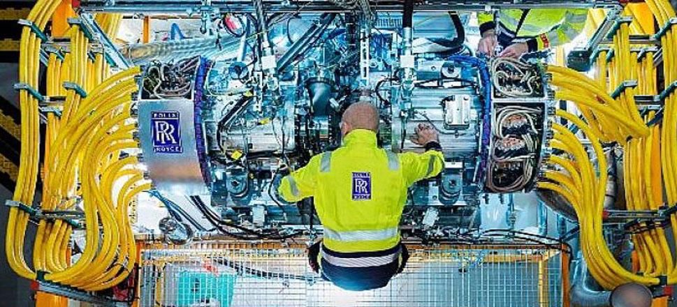Rolls-Royce'tan elektrikli uçaklar için jeneratör