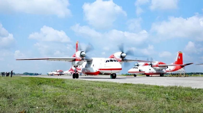 Ukrayna, Türkiye'ye iki itfaiye uçağı ve özel ekip gönderdi