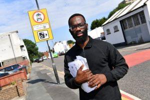 Croydon'daki taksi şoförüne 8 ayda 14 bin poundluk ceza