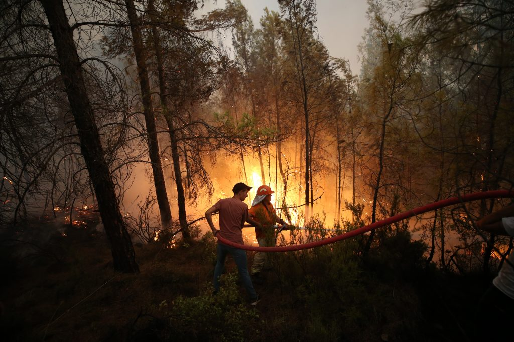 More than 120 wildfires sweep across Turkey as 8 deaths reported