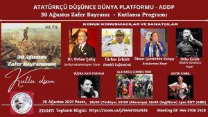 ADDP'den '30 Ağustos Zafer Bayramı' konulu panel