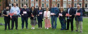 Asya Bebek için Londra'da yardım pikniği