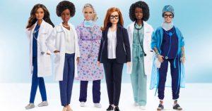 Barbie, İngiltere'deki COVID-19 aşı geliştiricisine benzeyen bebeği piyasaya sürdü
