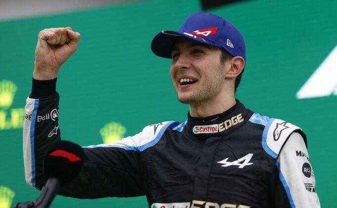 Esteban Ocon, kariyerinin ilk Formula 1 zaferini elde etti