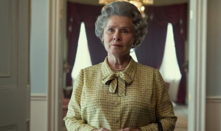 Netflix, The Crown'dan 'son kraliçe' Imelda Staunton'ın görüntüsünü paylaştı