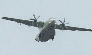 Rus İl-112V askeri uçağı düştü