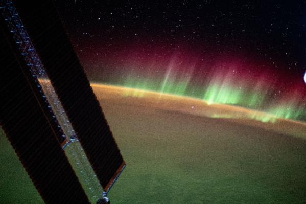 NASA, Hint Okyanusu'ndaki kuzey ışıkları görüntülendi