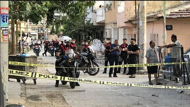 İzmir'de silahlı saldırı: 1'i bebek 5'i çocuk 12 kişi yaralandı