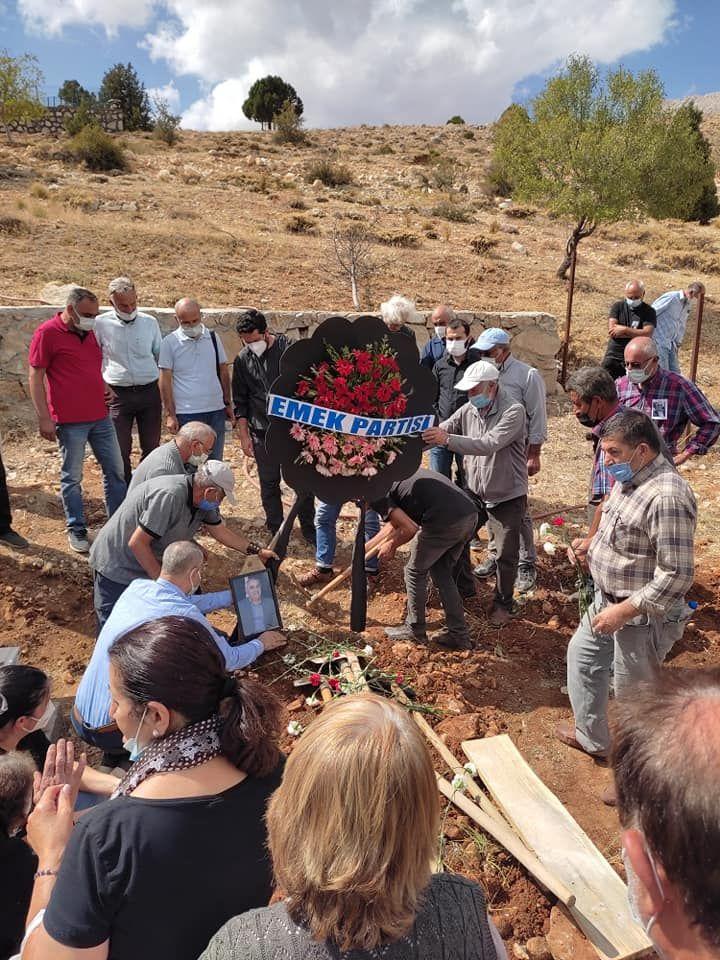 Hasan Kutlu buried in homeland Maraş