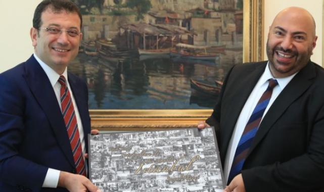 Birleşik Krallık'ın KKTC kökenli yeni İstanbul Başkonsolosu, İmamoğlu'nu ziyaret etti