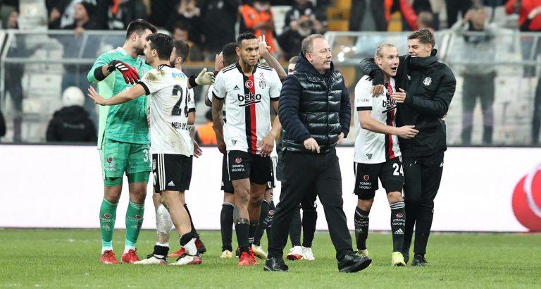 Beşiktaş, Galatasaray'a geçit vermedi