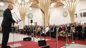 Erdoğan'ın İngiltere'de açtığı cami ödül aldı