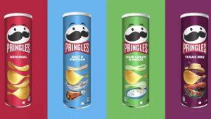 Pringles 20 yılda ilk kez logo değiştirdi