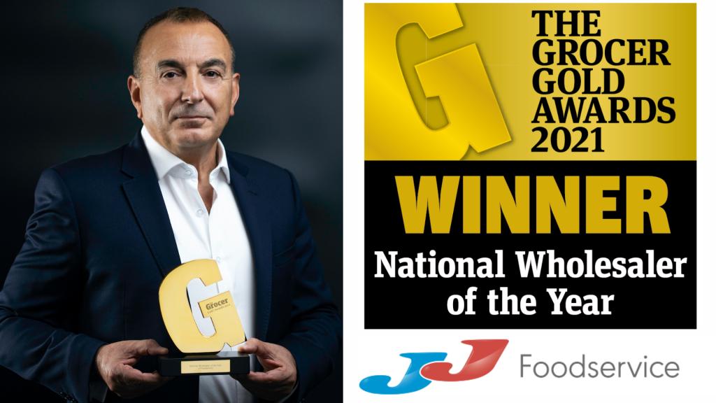 JJ Foodservice, '2021 Yılının Ulusal Toptancısı' seçildi