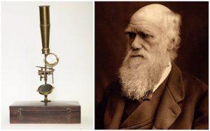 Charles Darwin'in mikroskobu açık artırmada